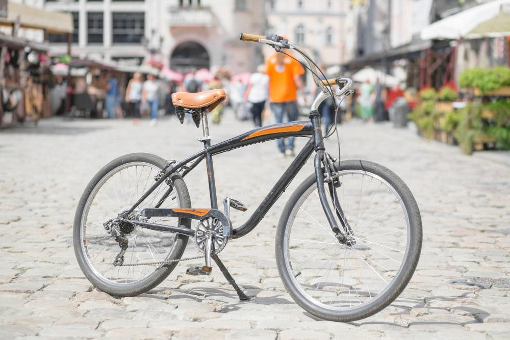 béquille de vélo