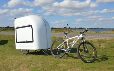 Une mini caravane pour vélo : idée géniale ou pas ?