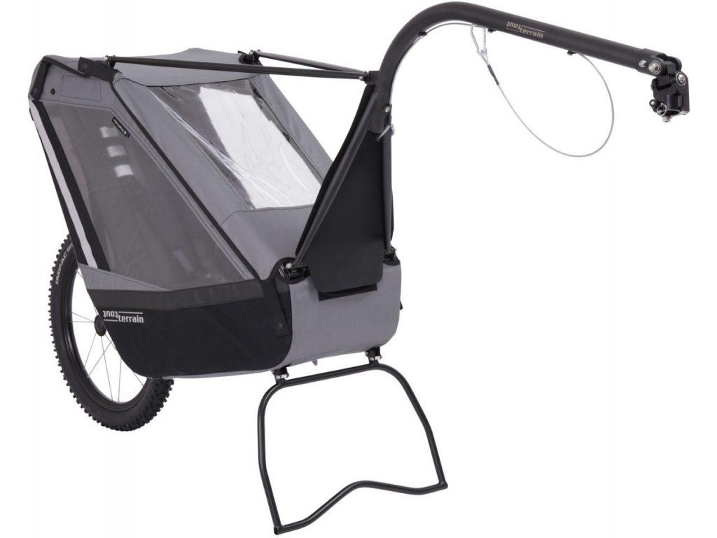 remorque VTT pour enfant tout-terrain modèle singletrailer