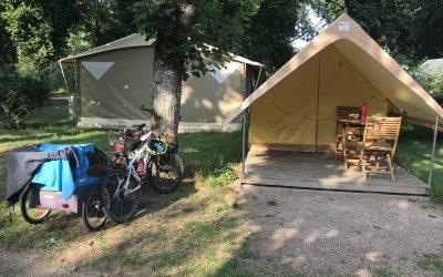 320 Km sur la Loire à vélo avec un enfant de 9 ans