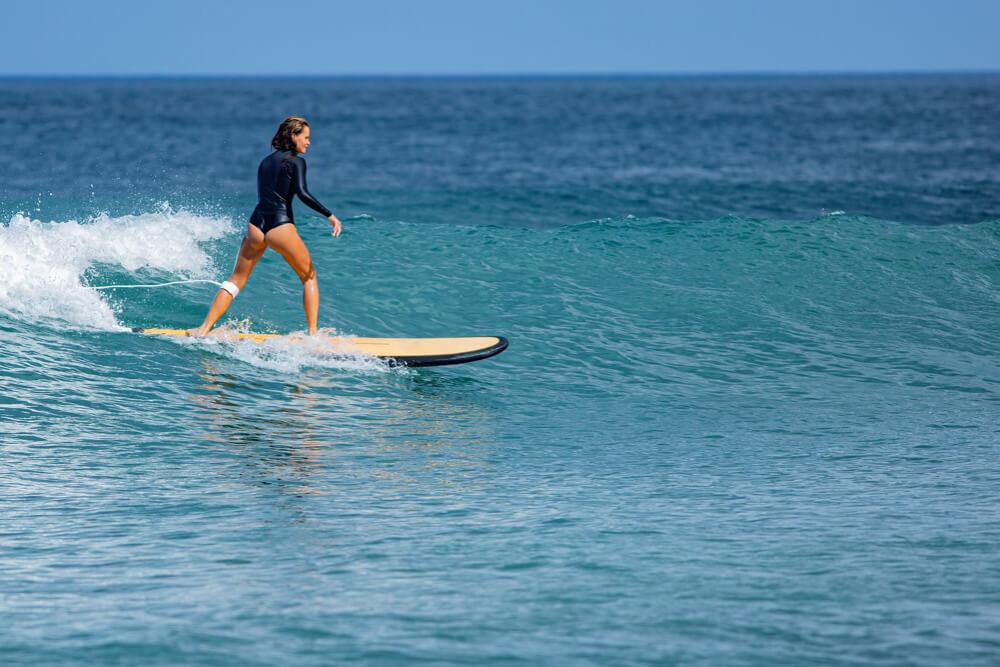 Séance de surf longboard 2